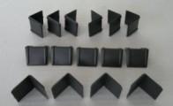 Siyah Plastik Köşebent